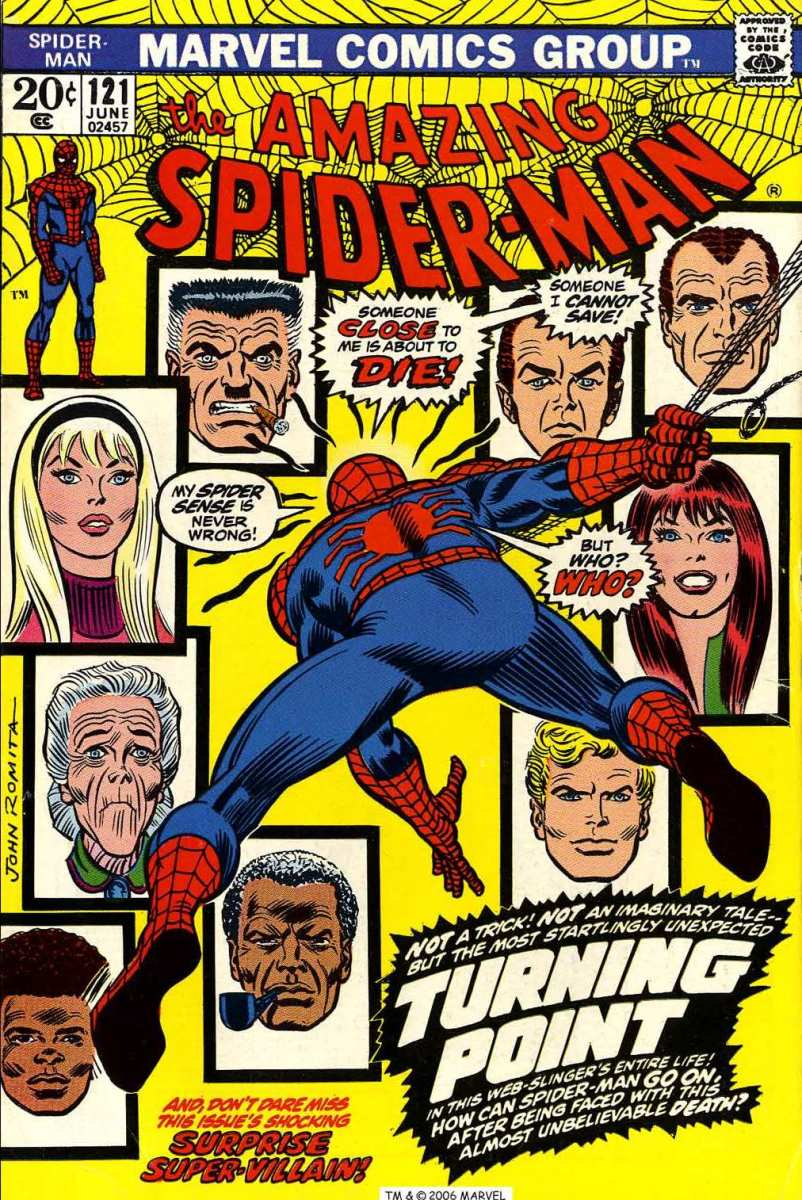Amazing Spider-man #121 - a landmark issue