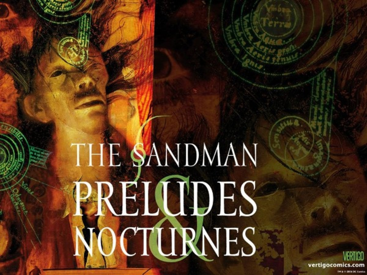 Cover art by Dave McKean
