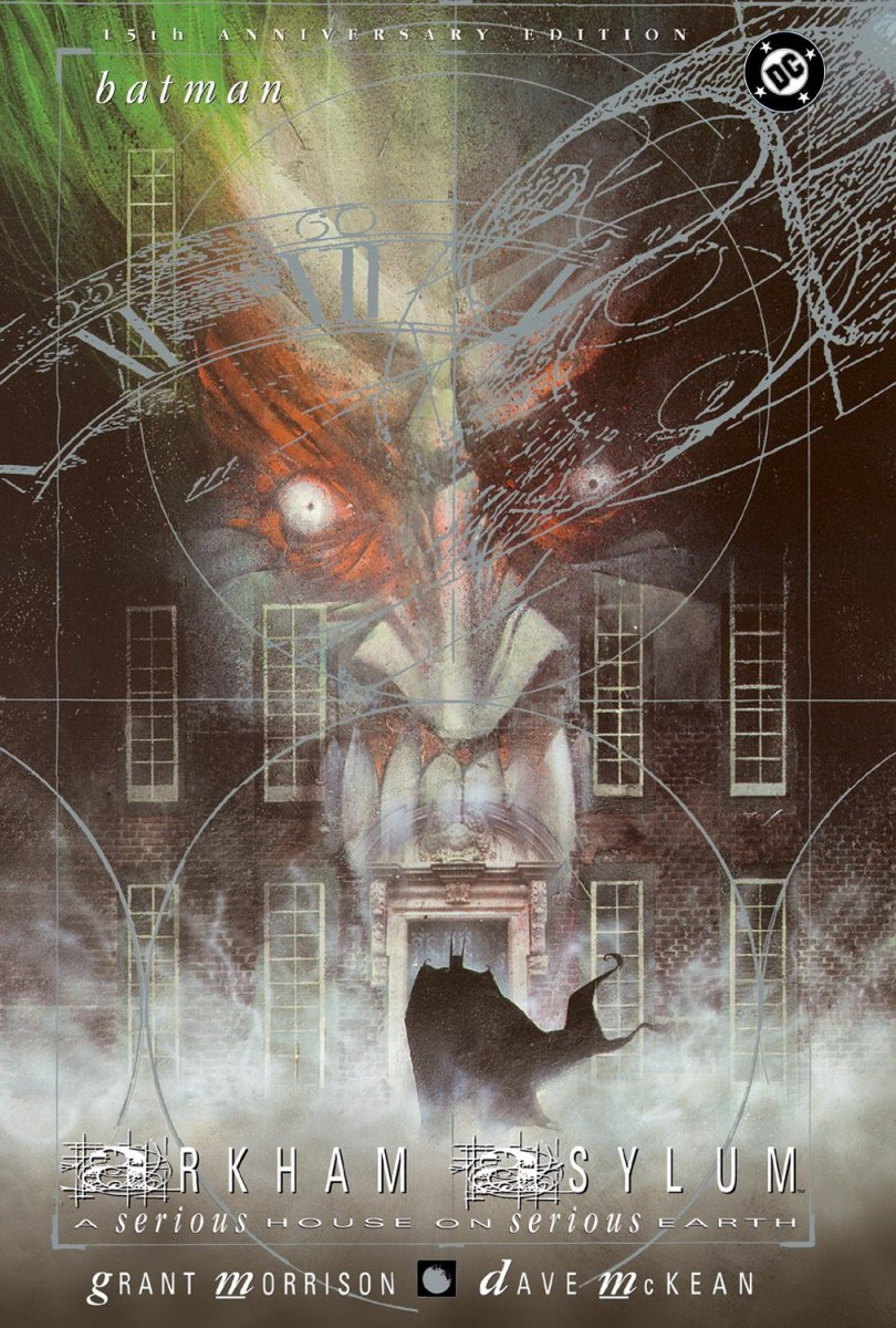 Written by Grant Morrison and illustrated by Dave McKean