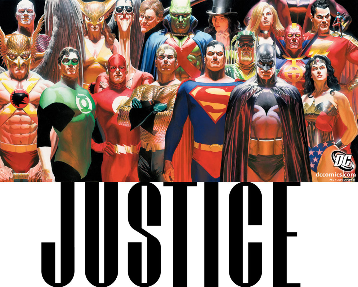 Justice - Illustrated by Alex Ross