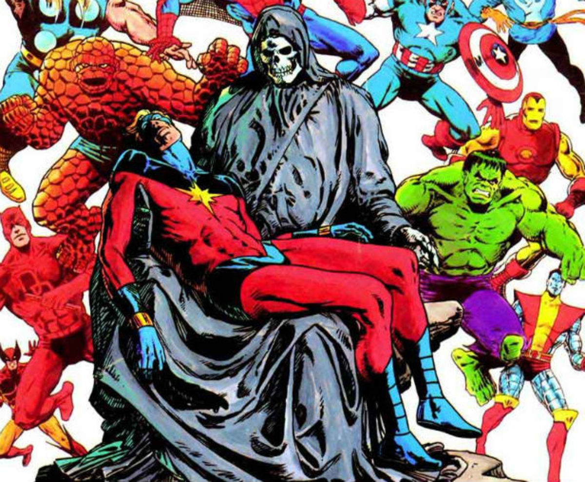 The Death of Captain Marvel by Jim Starlin (1984)