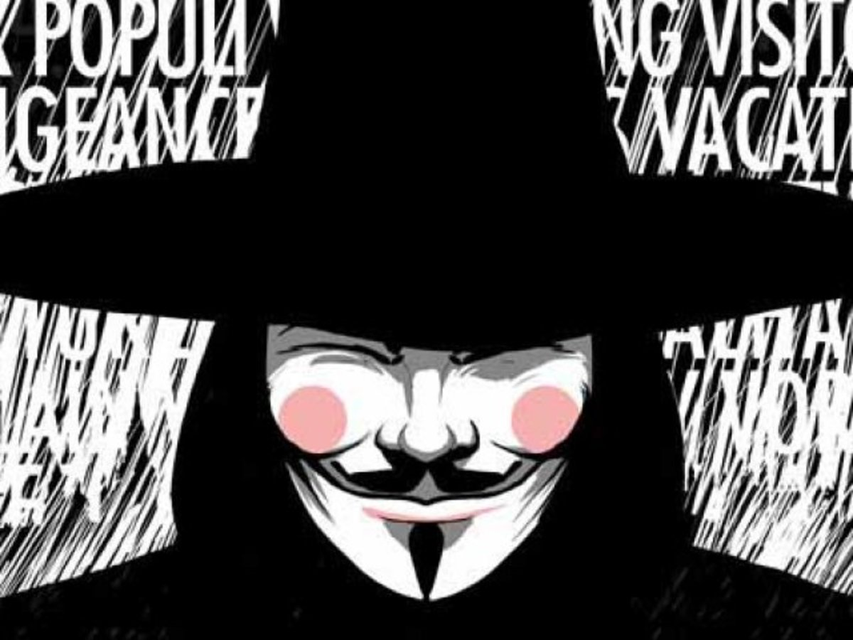 There are so many and here are a few more. (shown from V for Vendetta)