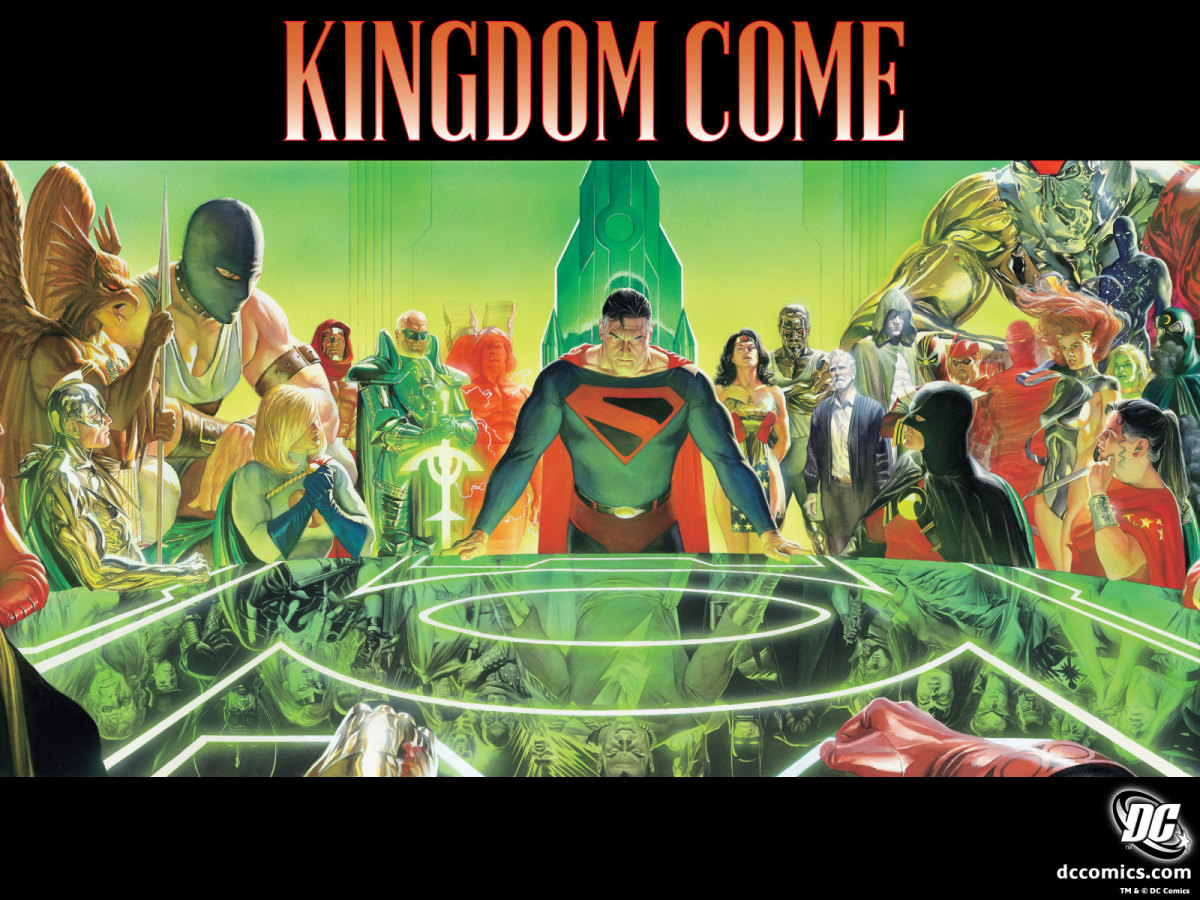 Kingdom Come - A four issue limited series illustrated by Alex Ross