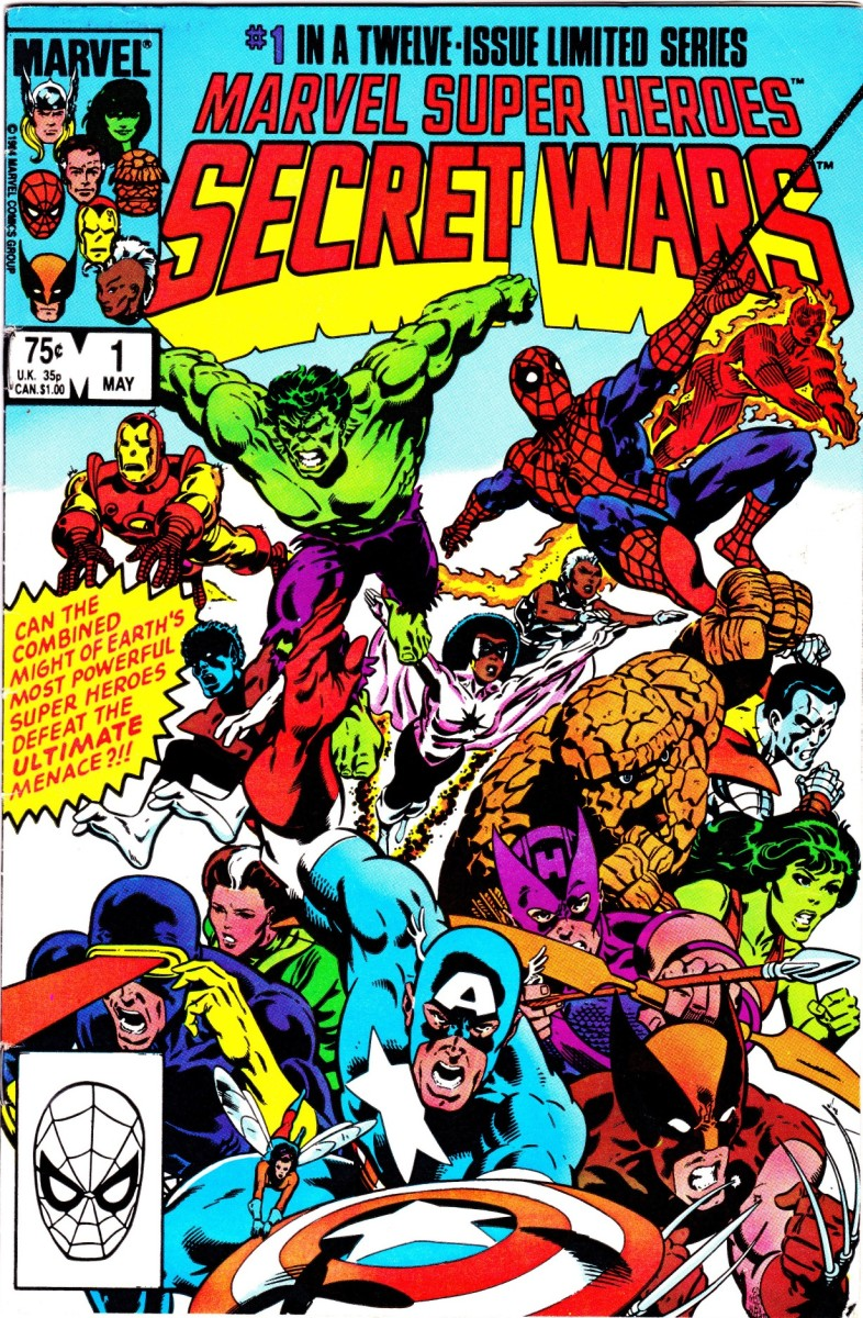 Secret Wars: A 12-issue limited series