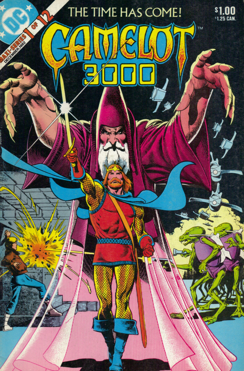 Camelot 3000 by Mike W. Barr and illustrated by Brian Bolland: King Arthur rises again.