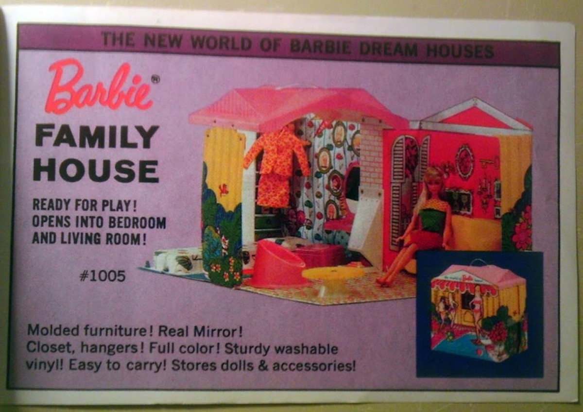 In 1996 came Barbie Family House, The New World of Barbie Dream Houses!