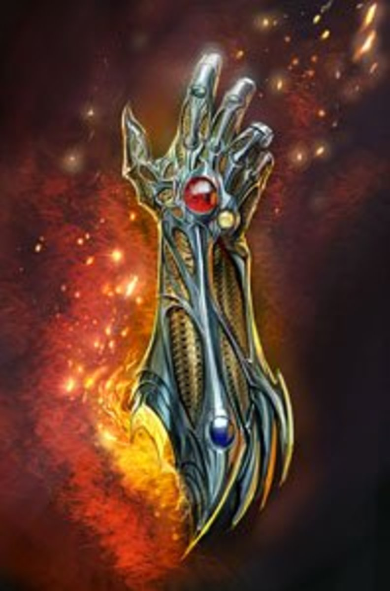 They could have just as easily called this archetype the Witchblade. I'm glad they didn't.