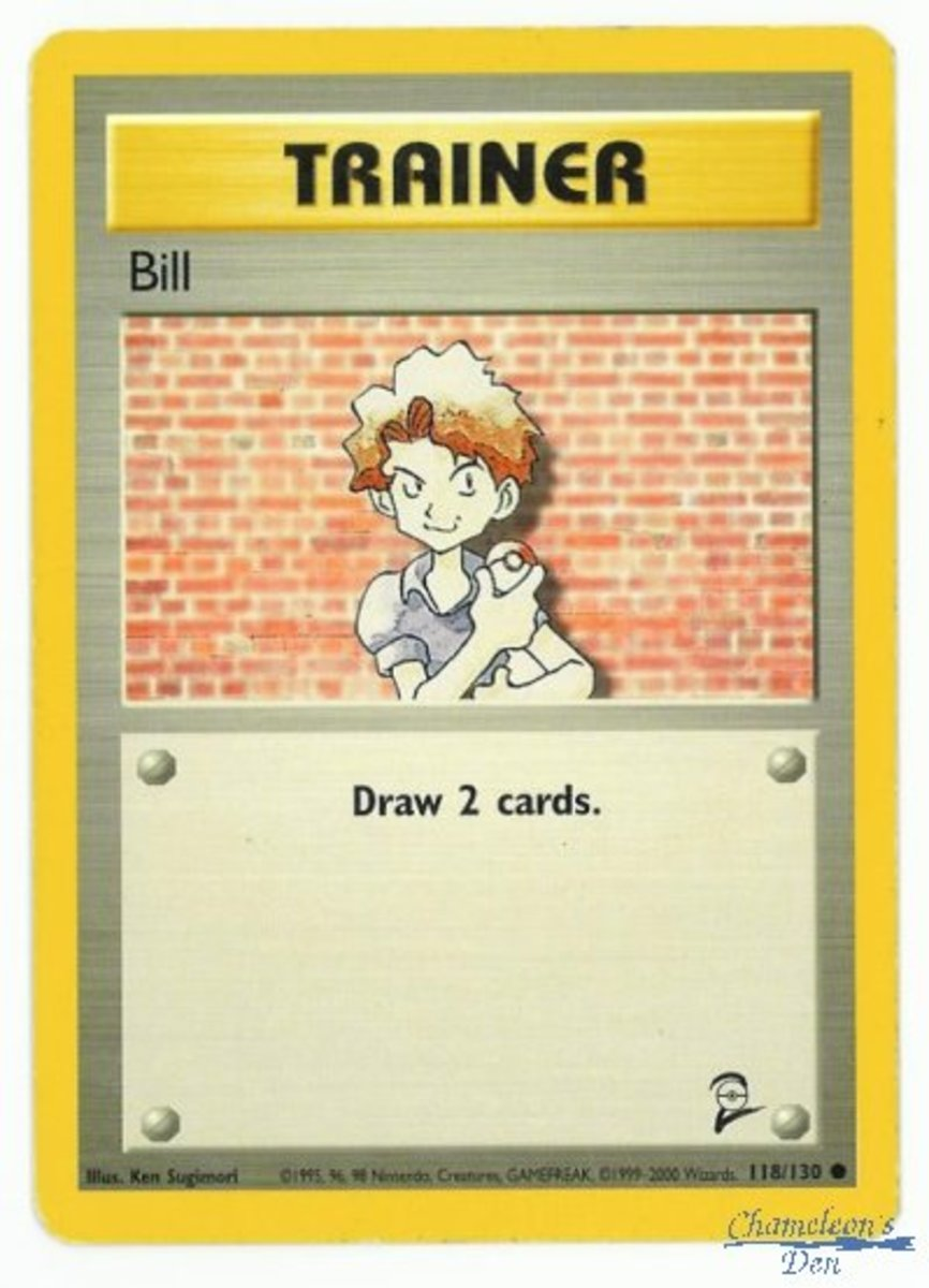 This is a much older trainer but still a trainer.  When played, this one allows the player to draw two additional cards.