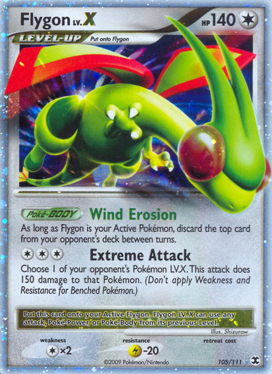 An ultra rare card: Fly on FLYGON