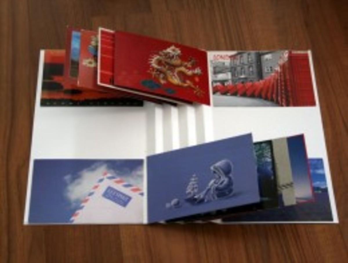 concertina-fold album