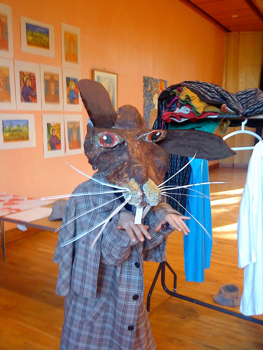 Mad March Hare from Alice in Wonderland.