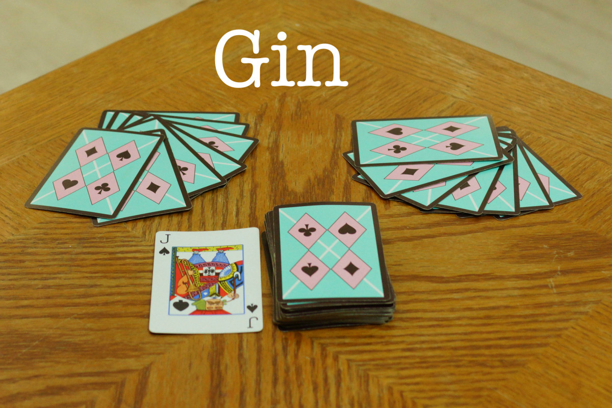 The setup for Gin.