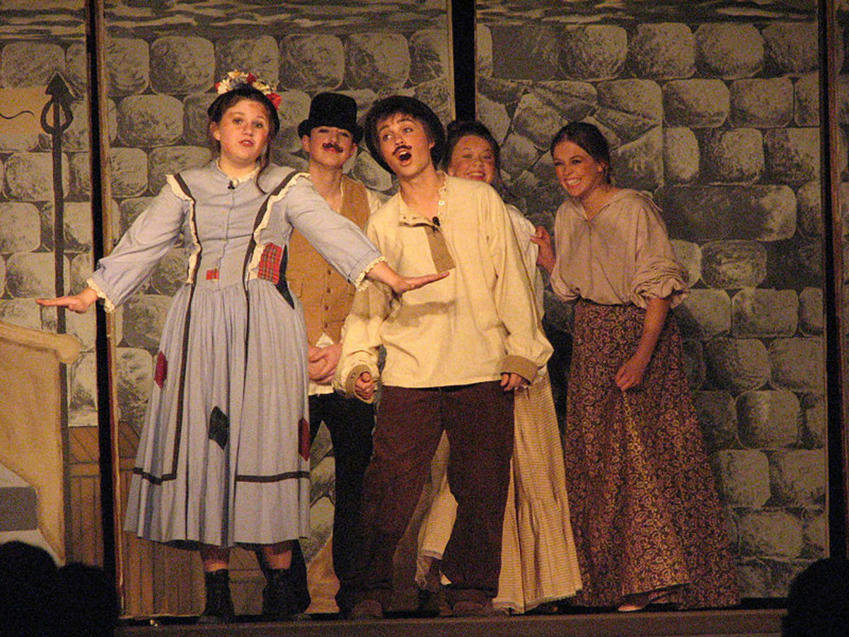 "High school production of the classic musical ""My Fair Lady"""
