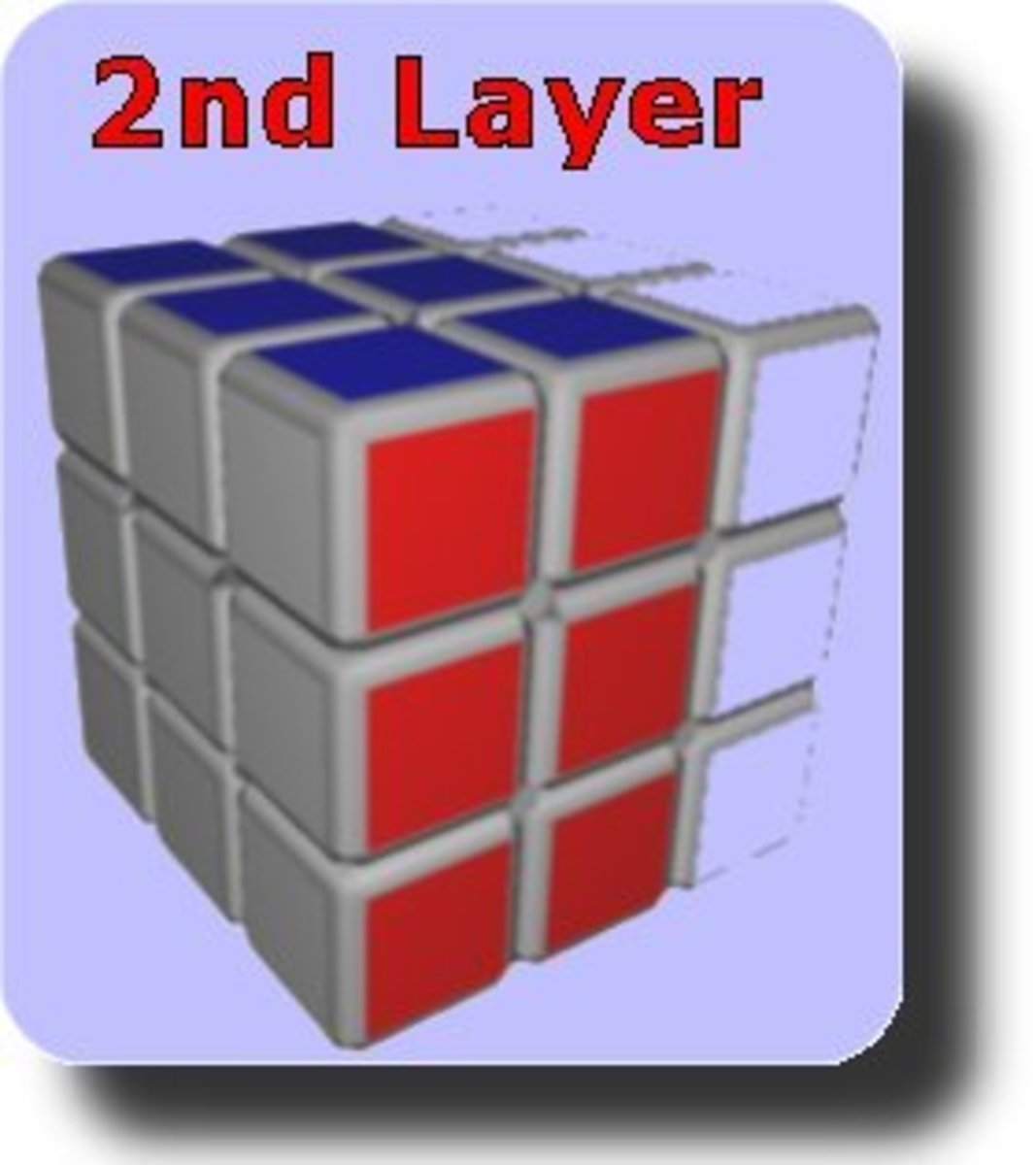how to solve the top layer of a rubix cube