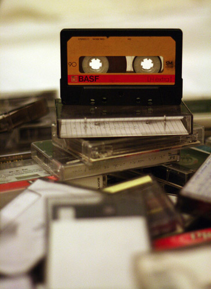 The simple cassette tape can help you learn lines rapidly.