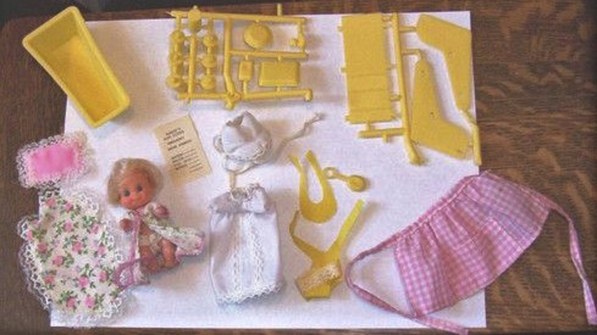 Sears Department Stores: Barbie Babysits; #7882
