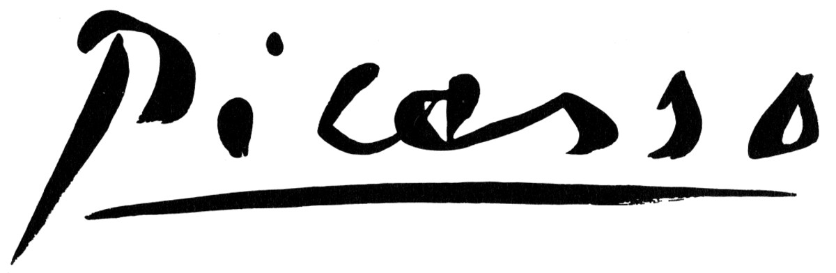Signature of Pablo Picasso