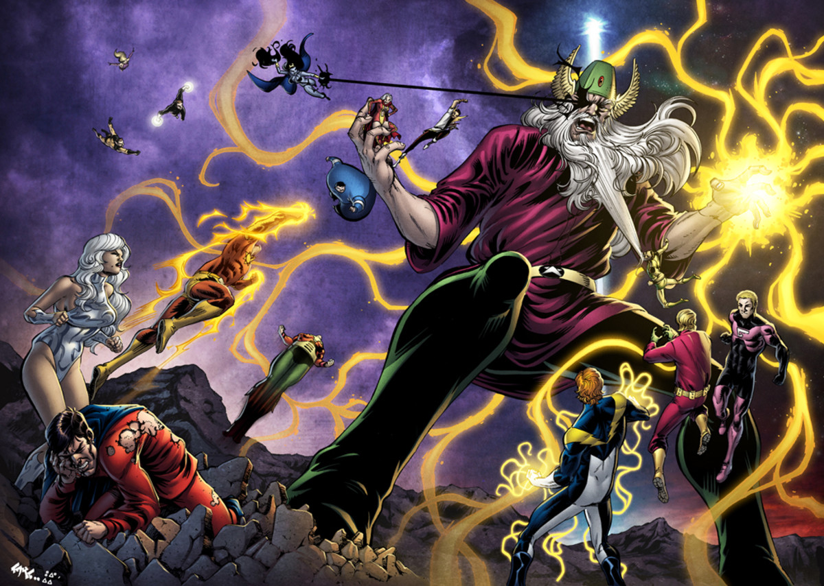 Mordru versus the LSH