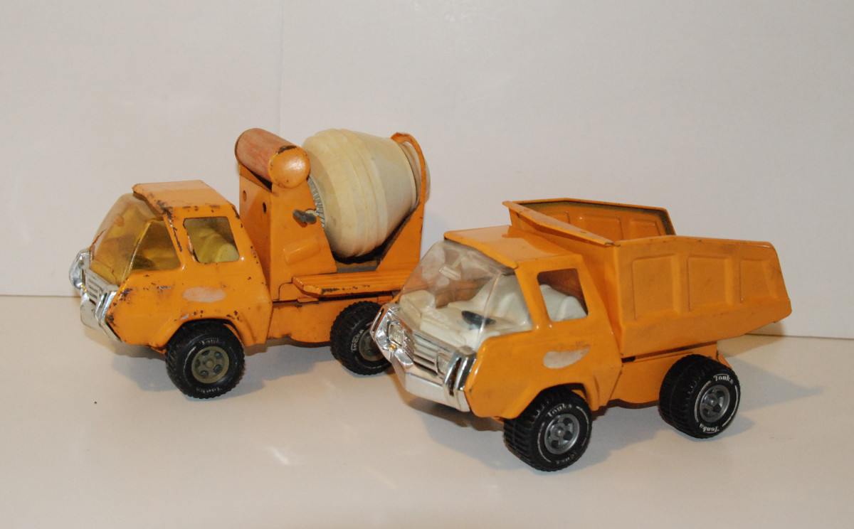I have found some great Tonka trucks on these websites.