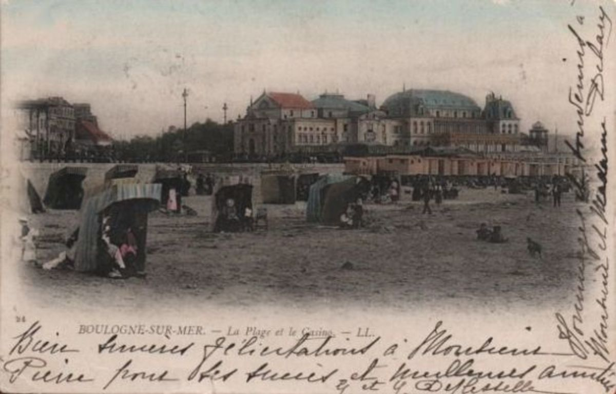 Postcard dated 1904