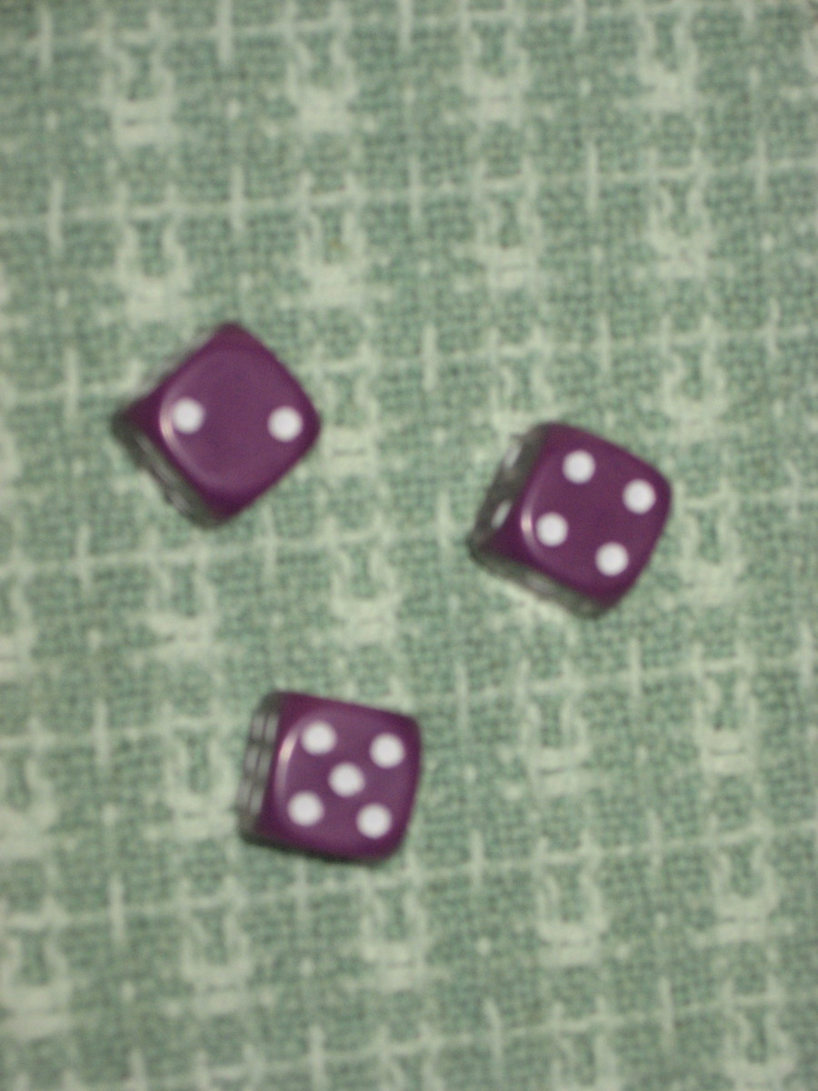 If the round is on ones this roll's score = 0.  Pass the dice to the next player.