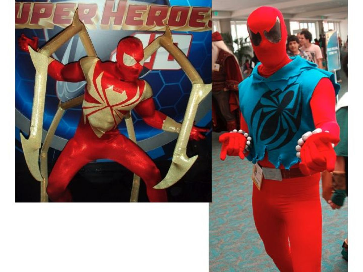 Spider man unlimited cosplay