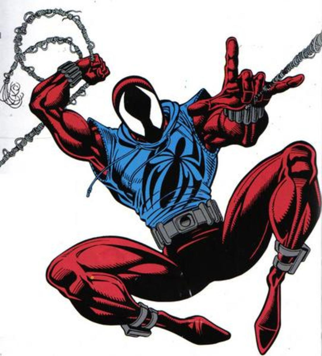 The Scarlet Spider Costume