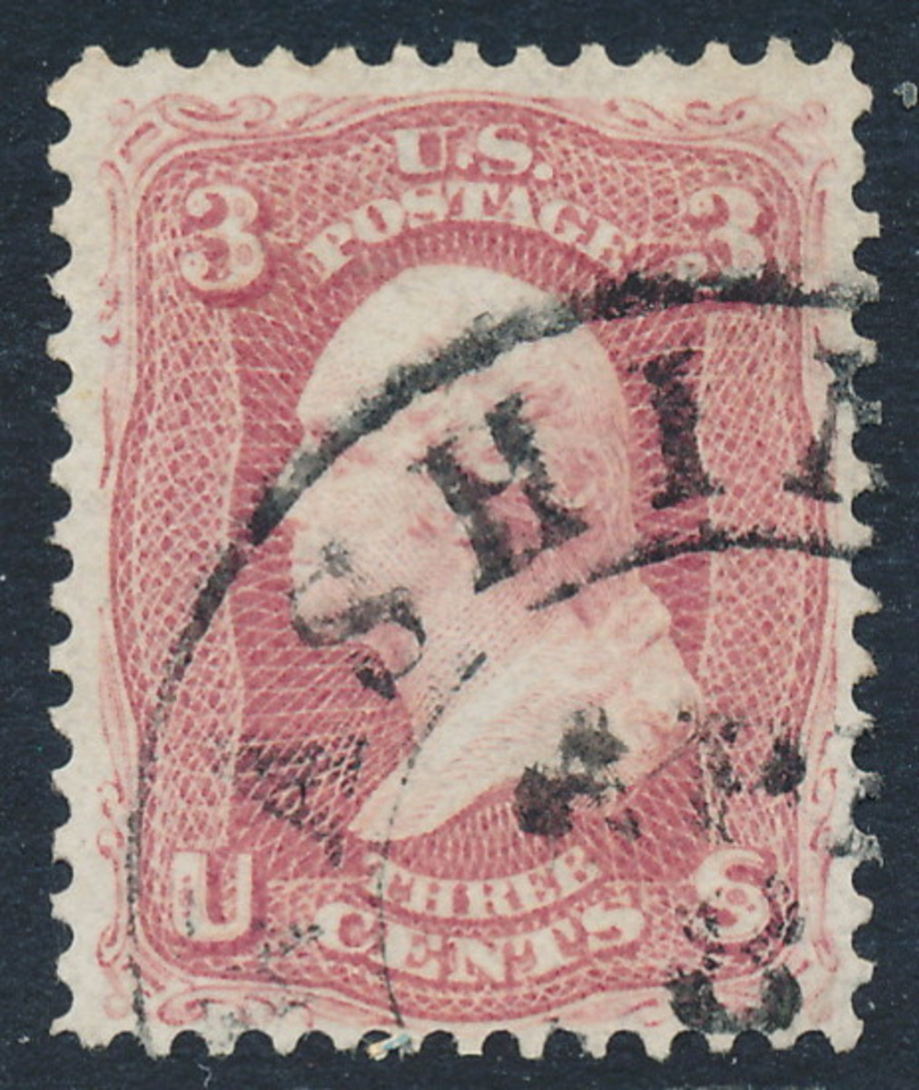 An early US 3c stamp
