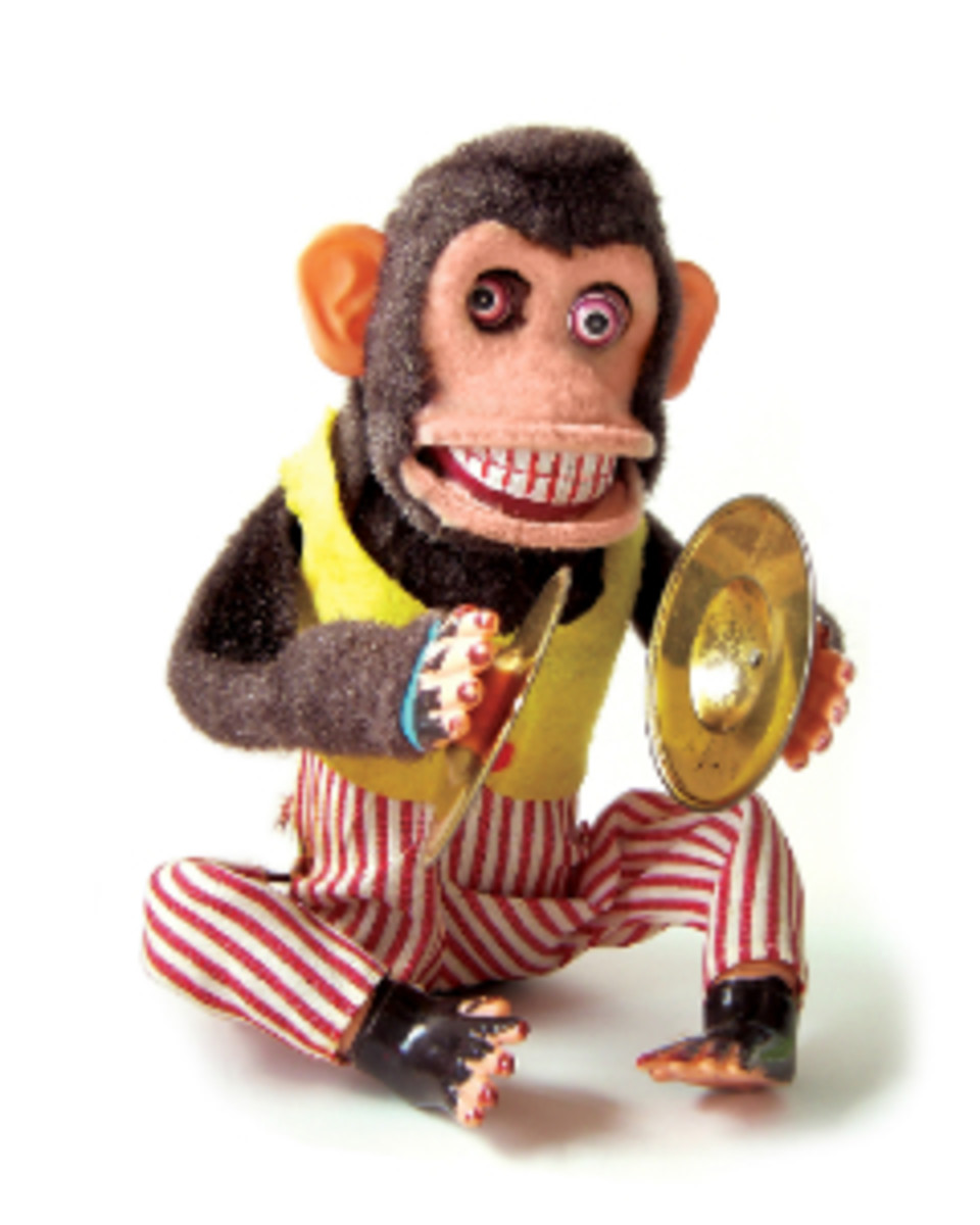 I don't know about you, but this monkey scares me a whole lot more than Bigfoot!