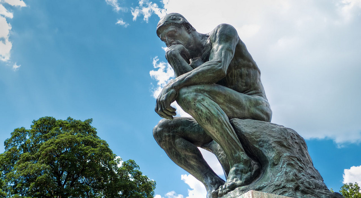 """Auguste Rodin's """"The Thinker"""""""