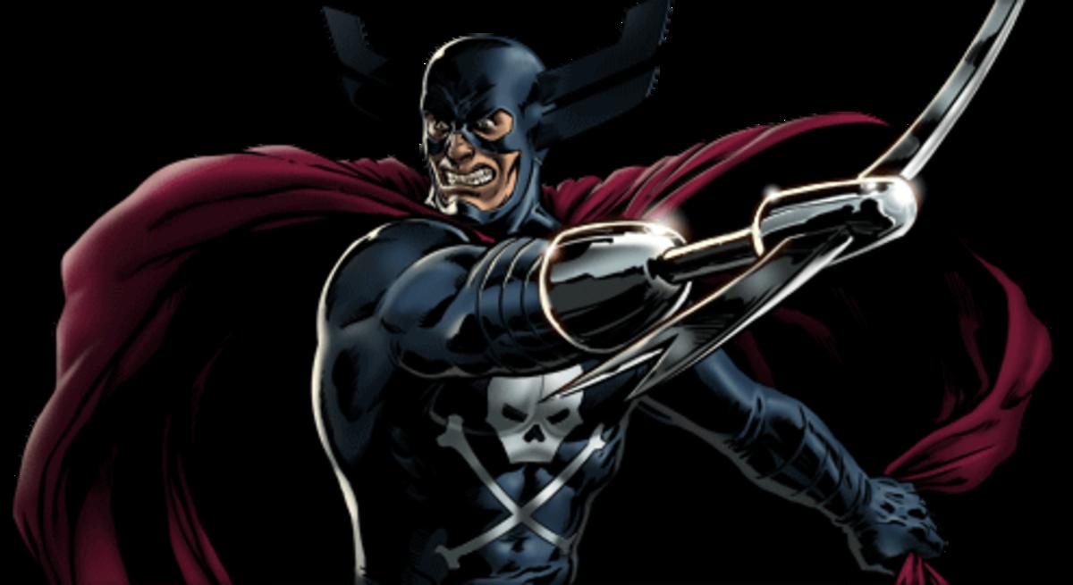 Eric Williams, brother of Wonder Man aka The Grim Reaper