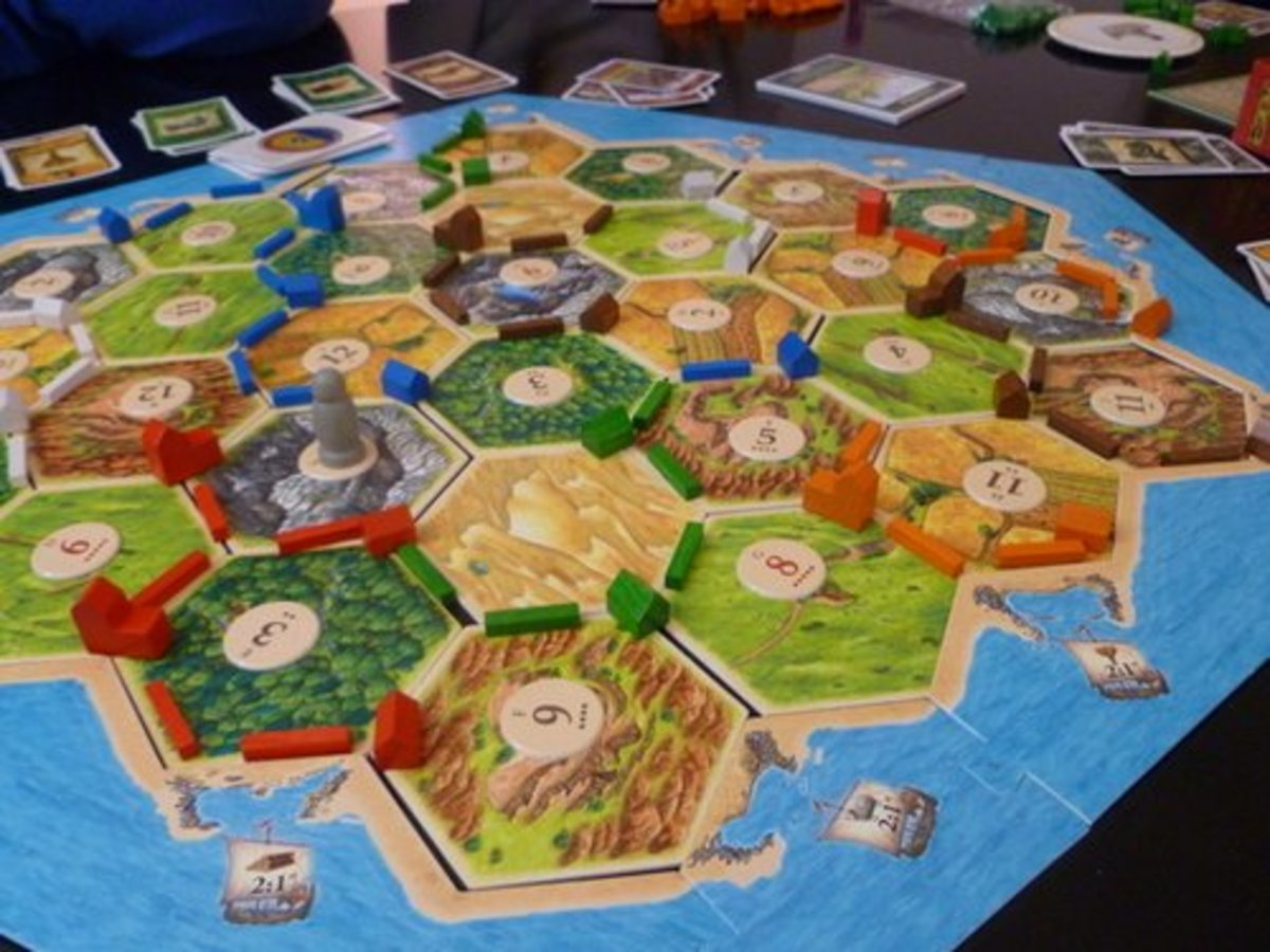 Settlers of Catan - one of the classics