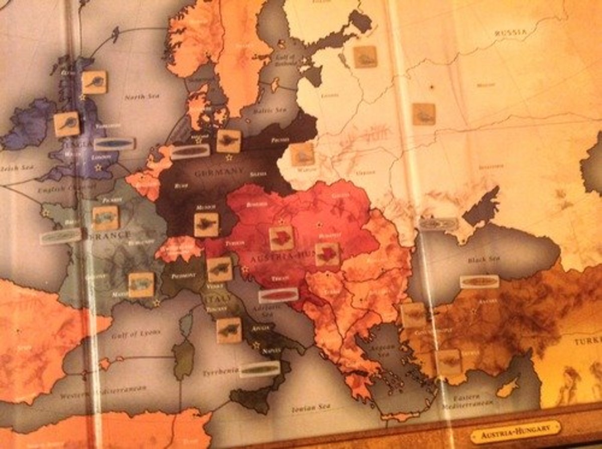 Diplomacy - a game of pure strategy