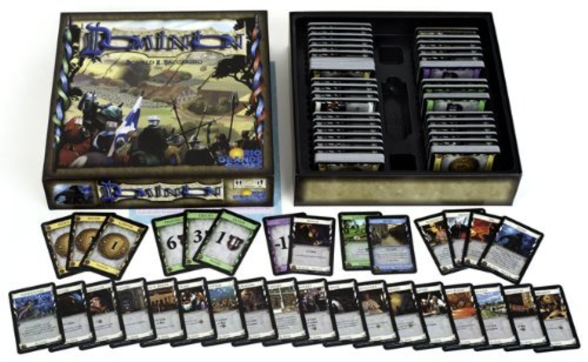 Dominion - classic strategy card game