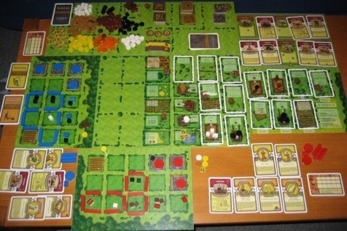 Agricola - Who thought that competitive farming would be such fun?