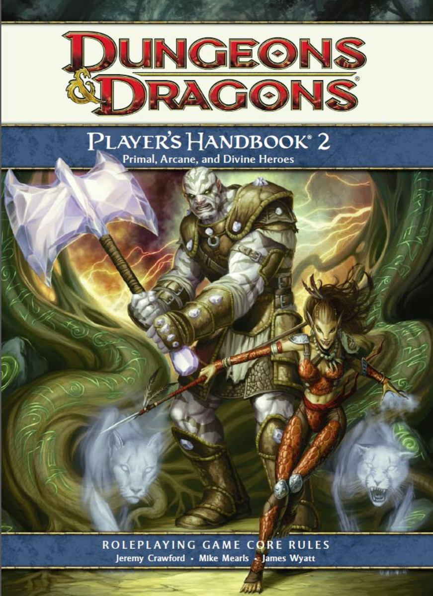 There are three Dungeon's and Dragons Player's Handbooks to reference when making a character.