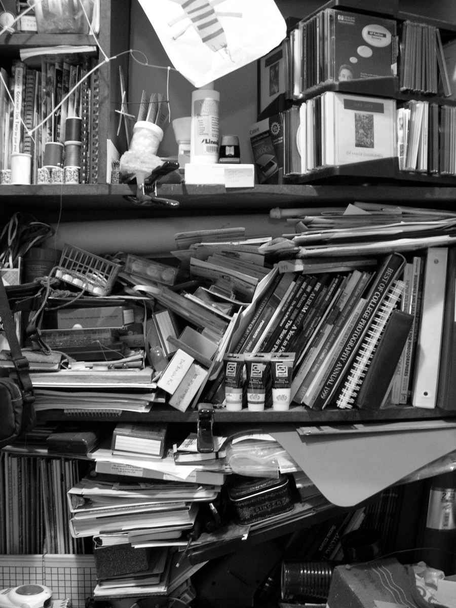 Don't overuse significant details or your story will begin to resemble a cluttered desk.