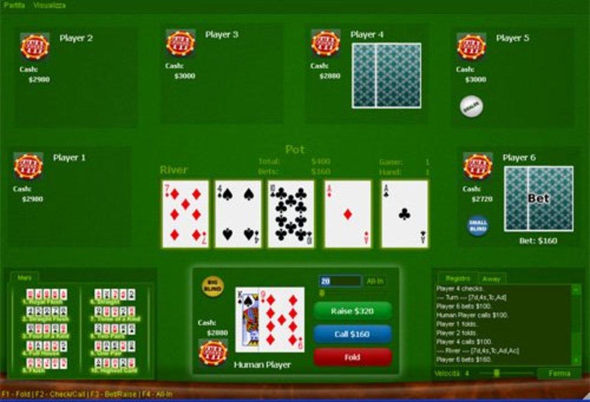 Playing poker online can be fun, as long as you don't gamble away your own money.