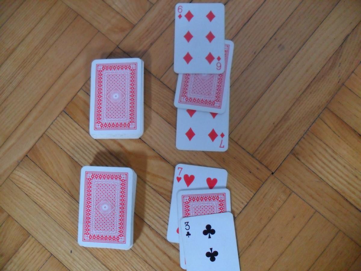 """""""War"""" in the war card game"""