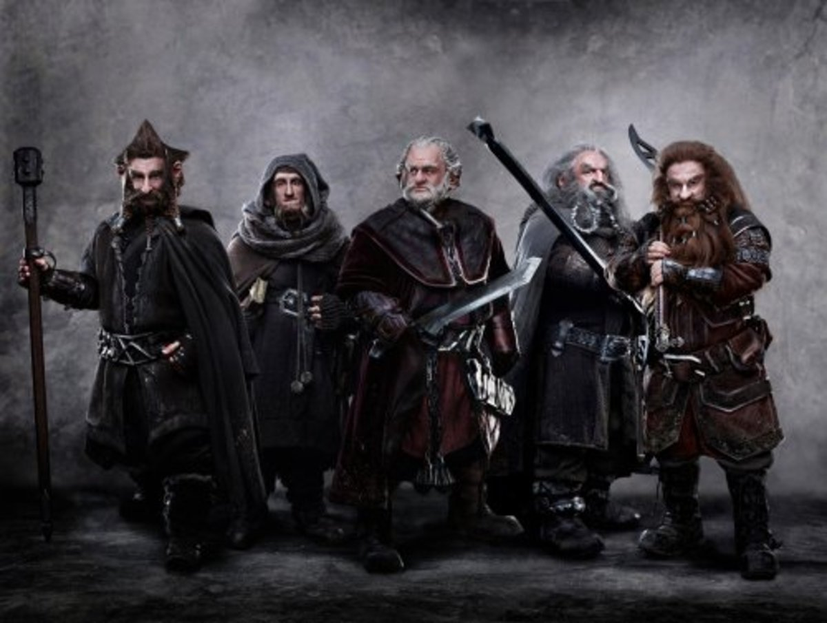 The Dwarves of J.R.R. Tolkien's Middle Earth, The Dwarves Of The Hobbit, And The Lord Of The Rings.
