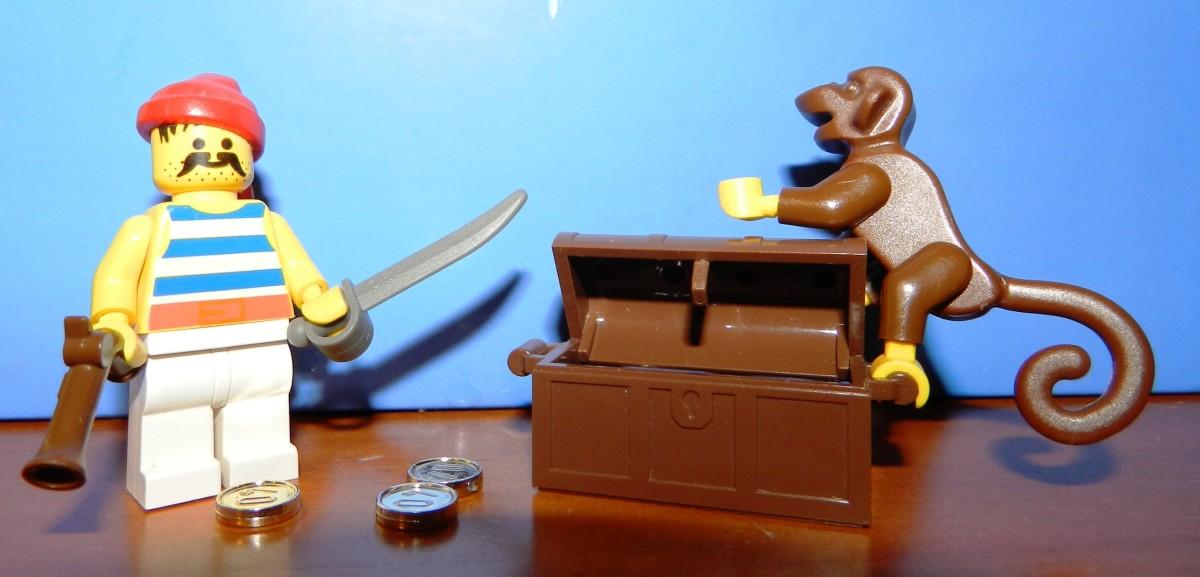 Lego Pirate Vintage Minifigure