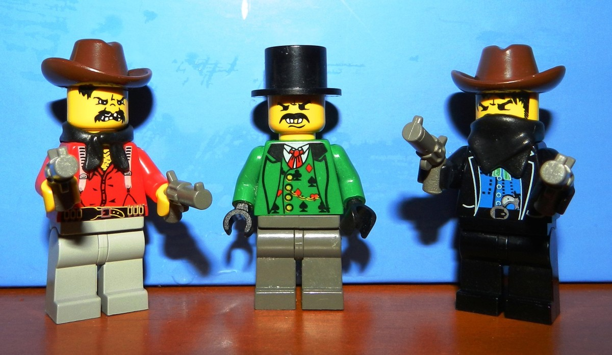 Lego Cowboys Vintage Minifigures