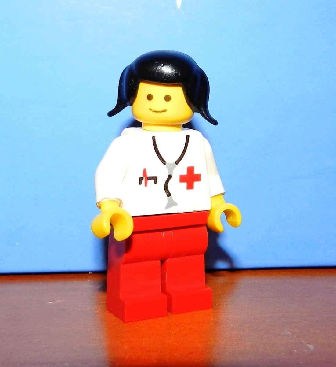 Doctor Lego Vintage Minifigure