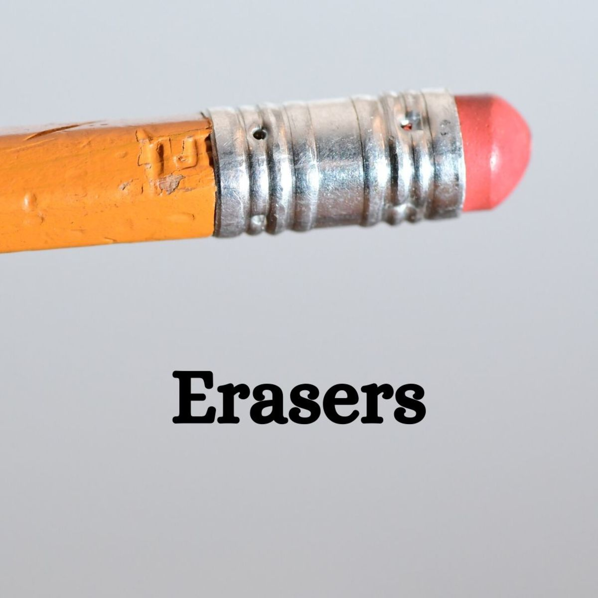 Erasers can come in all shapes and sizes—why not collect them?