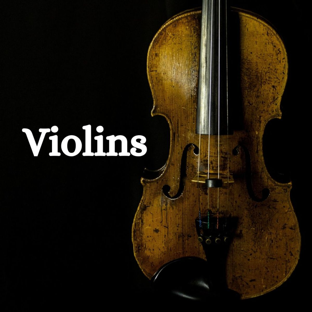 Collecting violins (especially old, valuable violins) can be extremely expensive, so don't even think about getting into collecting these unless you've got the cash!