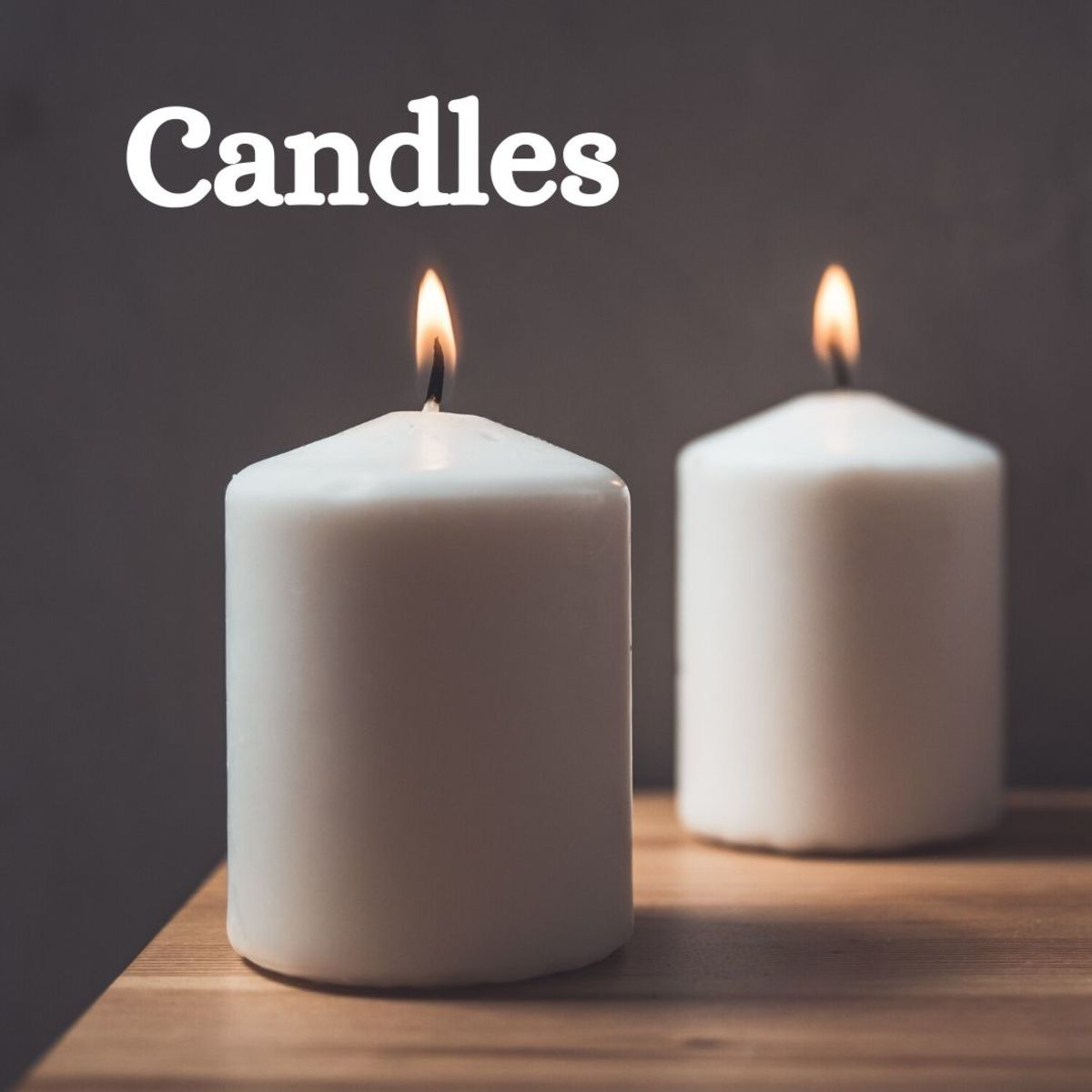 There are many different types of candles—they're perfect for collecting!