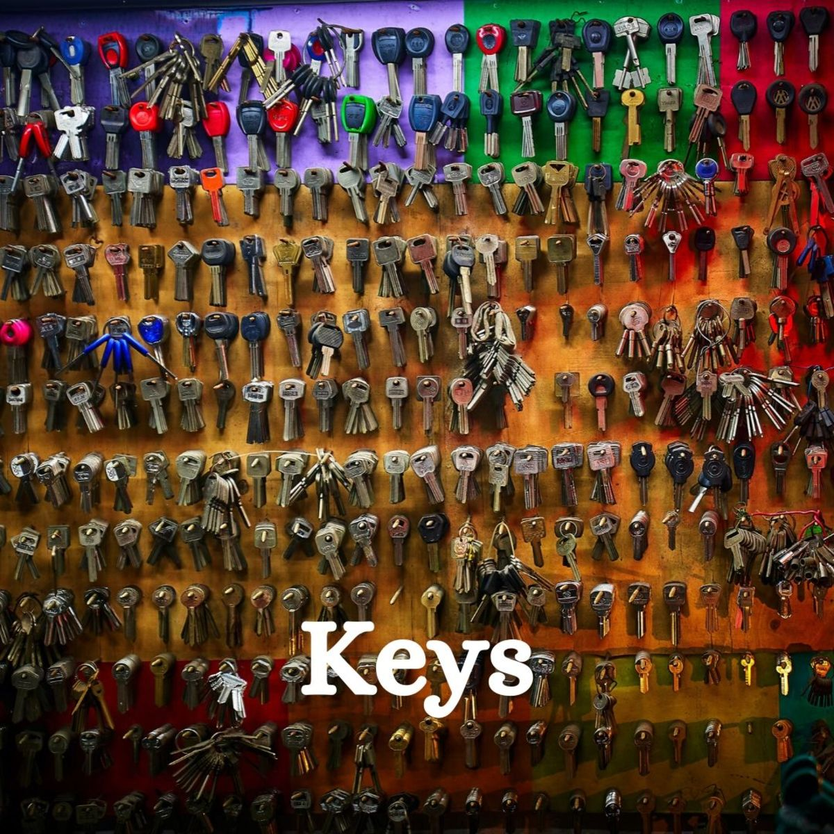 Keys come in all shapes, sizes, and materials.