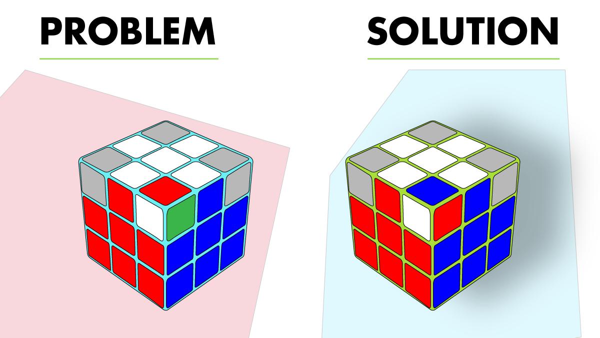 6. Aligning the Third Layer Corner Pieces