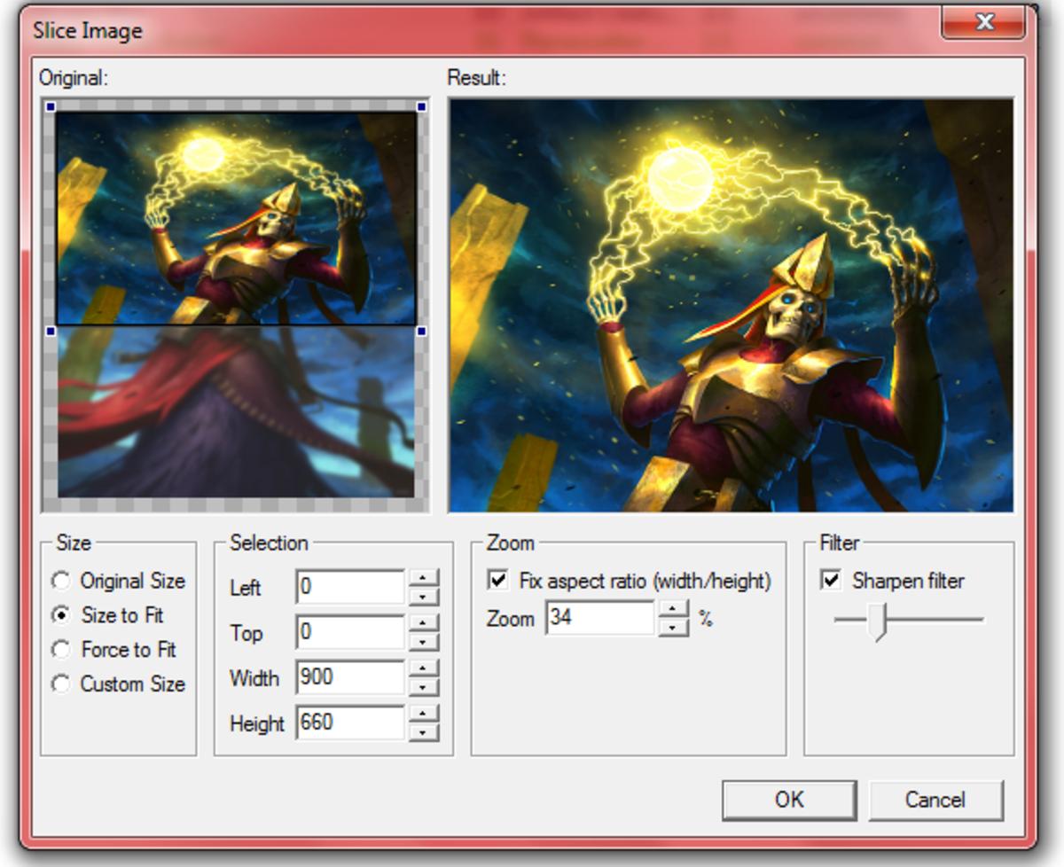 Applying Artwork to a Card in Magic Set Editor