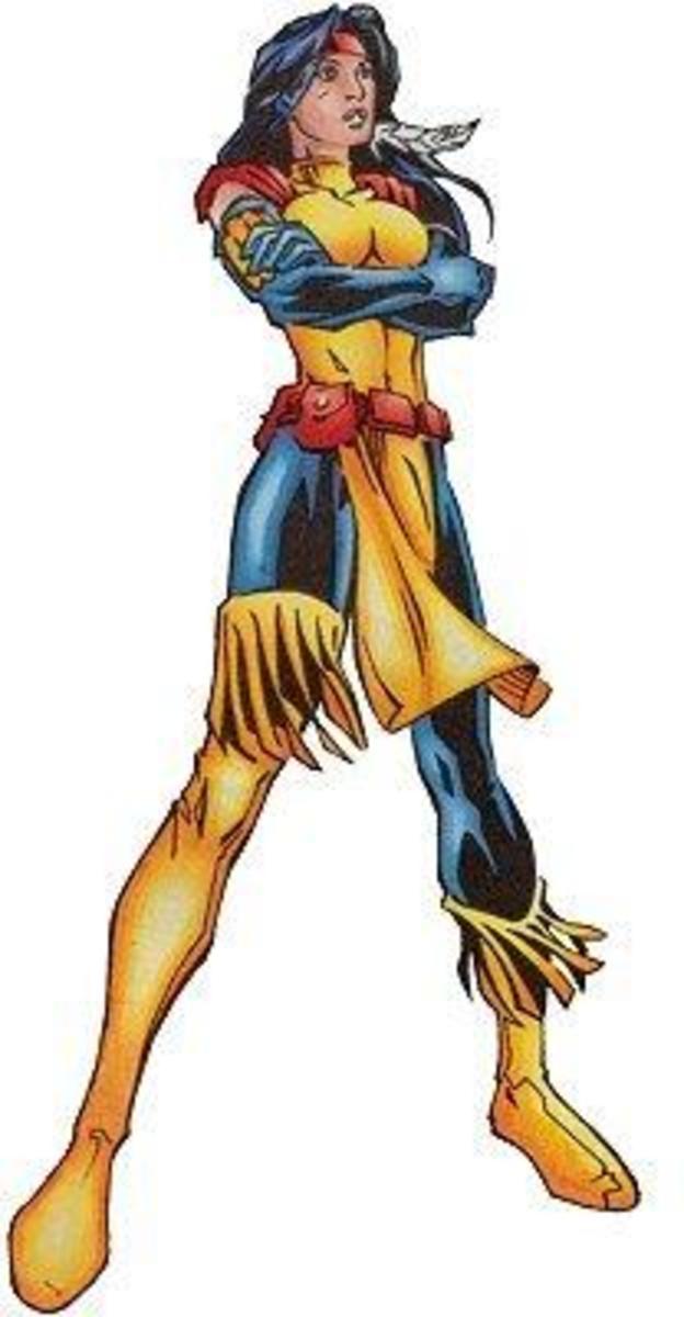 Danielle Moonstar, Mutant and former Valkyrie